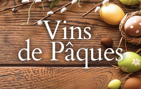 Sélection de vins de pâques